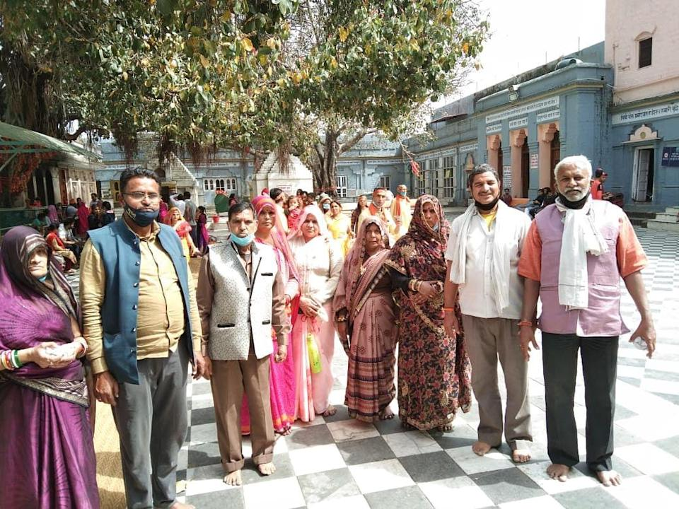 """<div class=""""paragraphs""""><p>The pilgrims reached the Kumbh in time for the first and second <em>Shahi Snan</em> that were scheduled on 11 and 12 March.</p></div>"""