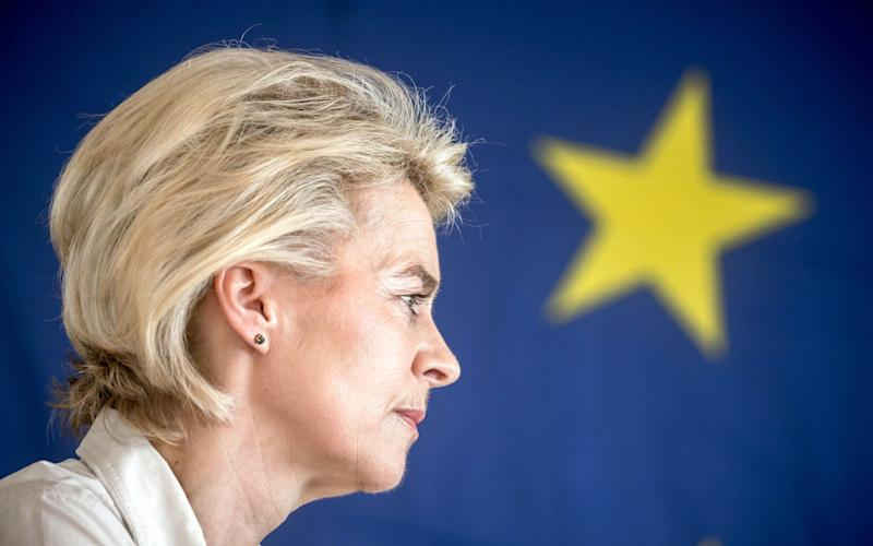 Ursula von der Leyen's speech is expected to focus on the achievements of her ten months in office as the first woman president of the commission. - EPA-EFE
