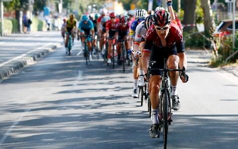 <span>Thomas says he is not back to his best form following his post-Tour de France break </span> <span>Credit: GETTY IMAGES </span>