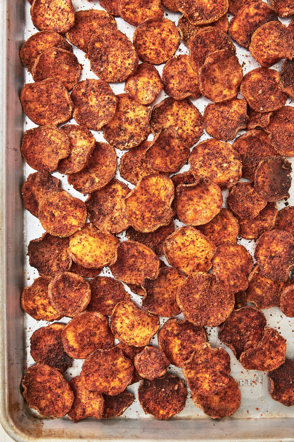 """<p>Satisfy a chip craving with these yummy chips.</p><p>Get the recipe from <a href=""""https://www.delish.com/cooking/recipe-ideas/recipes/a49369/sweet-potato-chips-recipe/"""" rel=""""nofollow noopener"""" target=""""_blank"""" data-ylk=""""slk:Delish"""" class=""""link rapid-noclick-resp"""">Delish</a>. </p>"""