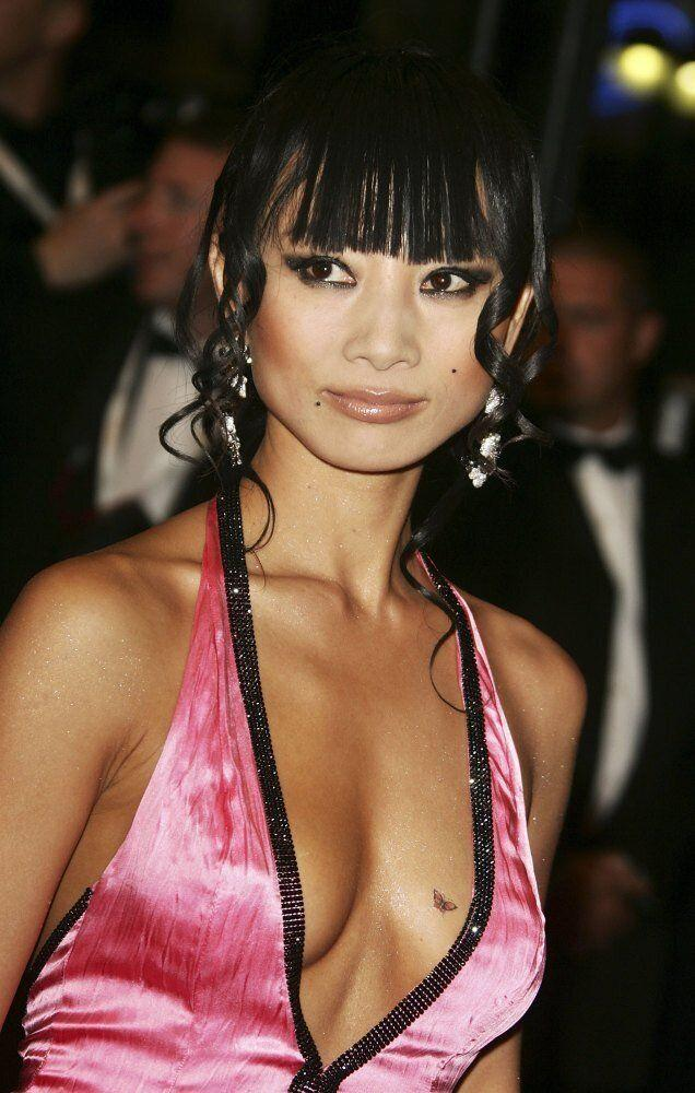 Actress Bai Ling attends the 'Southland Tales' premiere at the Palais during the 59th International Cannes Film Festival May 21, 2006 in Cannes, France. (Pascal Le Segretain, Getty Images)