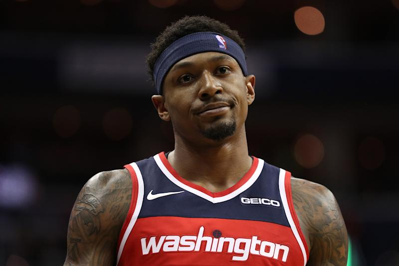 Wizards guard Bradley Beal has a decision coming on a contract extension. (Getty Images)