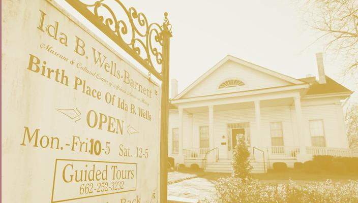 The Ida B. Wells-Barnett Museum in Holly Springs, Miss., is a tribute to an African American journalist and co-founder of the National Association for the Advancement of Colored People.