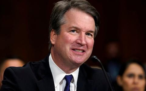 <span>Brett Kavanaugh's appointment was confirmed by the Senate</span> <span>Credit: Andrew Hamik/AP </span>