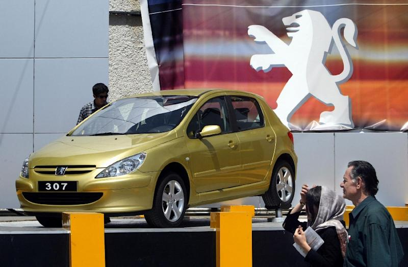French Carmaker Peugeot Returns To Iran With Mn Euro Deal