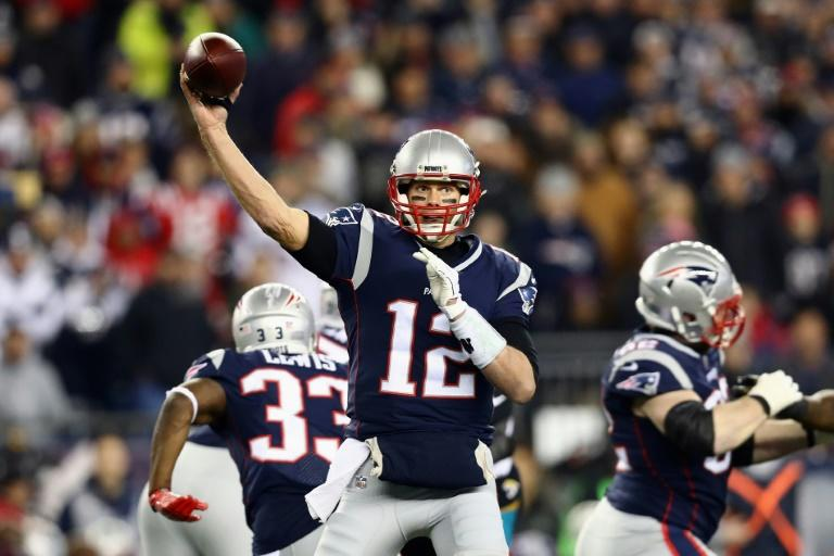 Tom Brady showed why he has become an NFL legend, chasing down the Jaguars in the final minutes to send the Patriots to Super Bowl 52