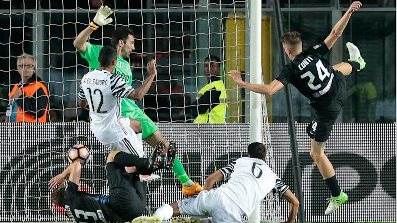 Atalanta 2 Juventus 2: Last-gasp Buffon error proves costly