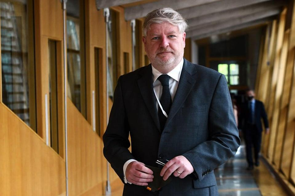 Angus Robertson praised the work of councils in resettling refugees (Andy Buchanan/PA) (PA Wire)