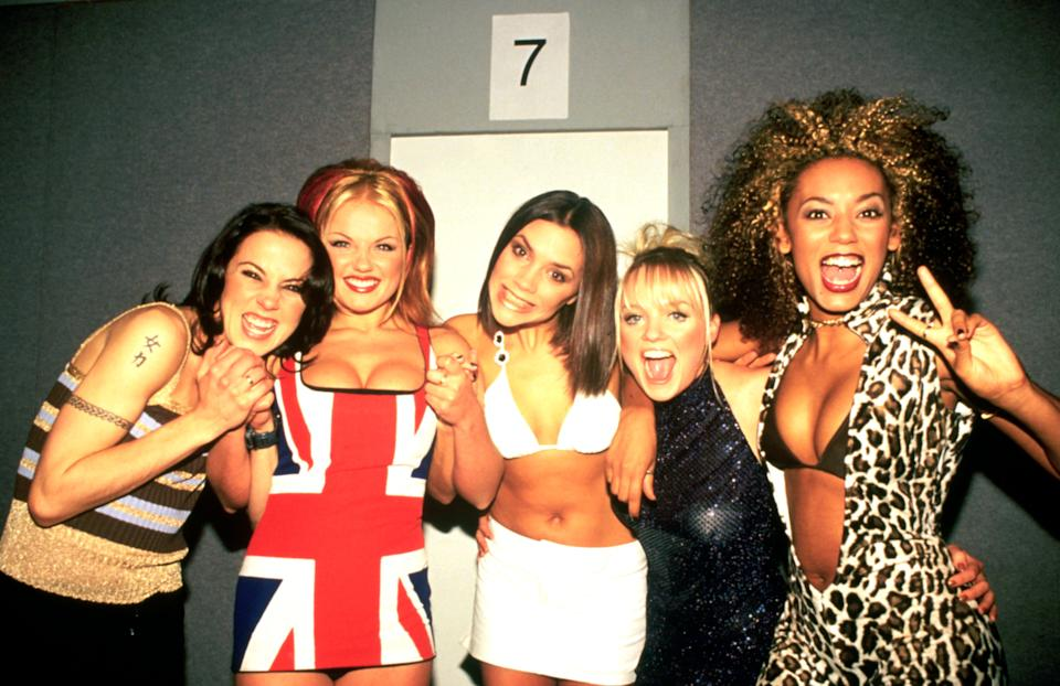 The liaison happened during the Spice Girls' heyday (Photo: Photoshot via Getty Images)