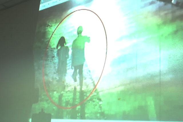 A CCTV footage shows Christine Lee Silawan with the suspect before her murder