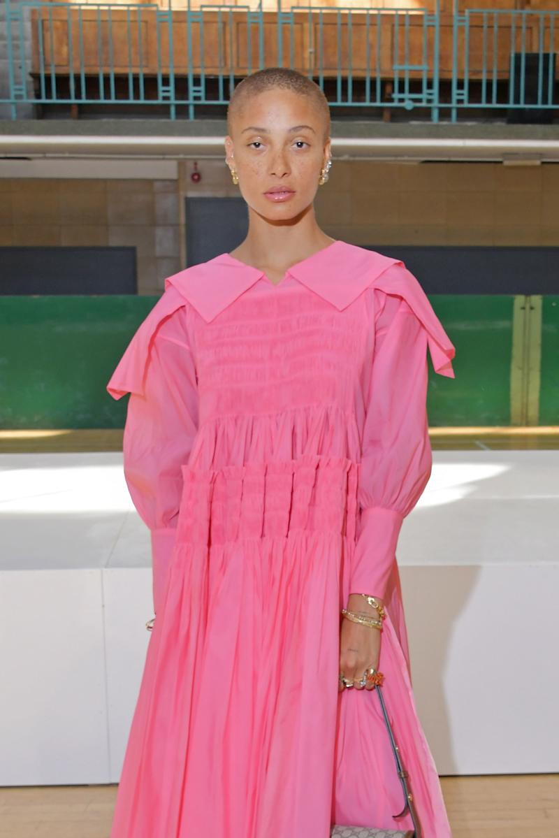 Adwoa Aboah Proves the Power of a Little Lip Gloss at Molly Goddard