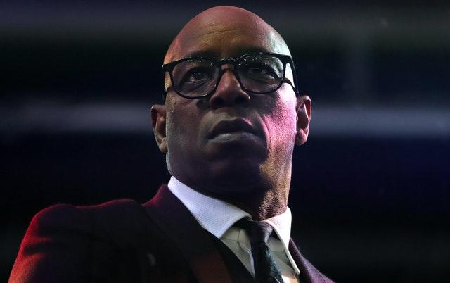 Ian Wright hit out at some of the reactioN