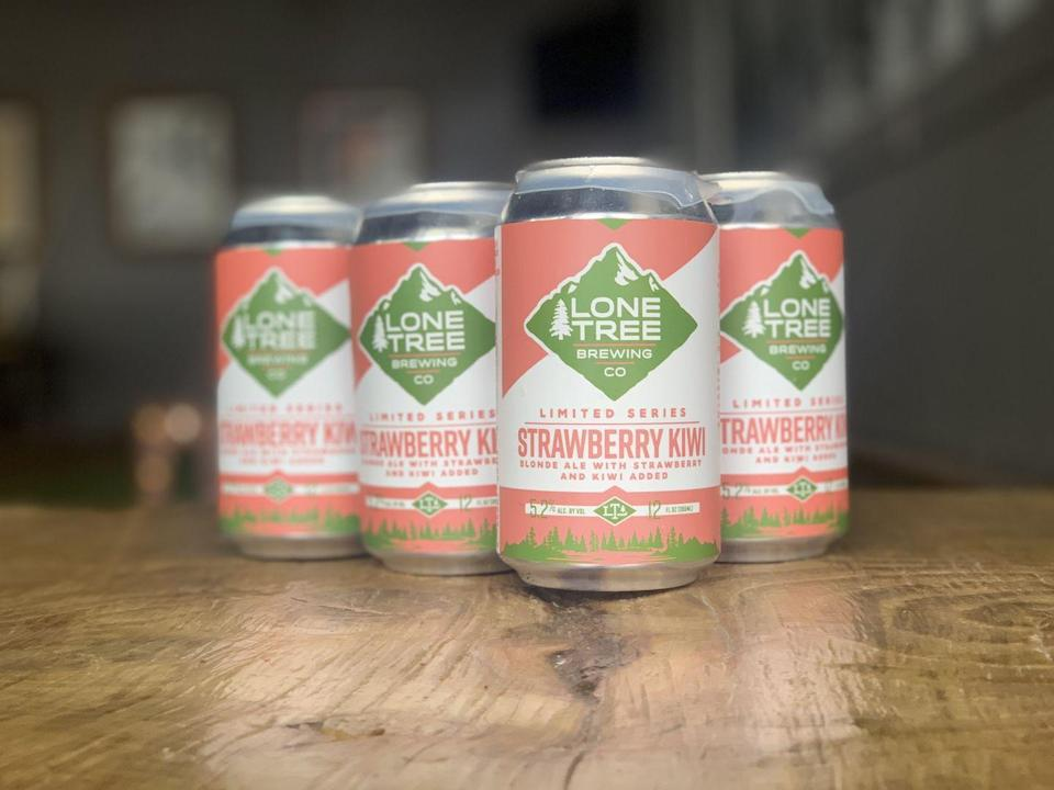 "<p>With Strawberry Kiwi Blonde Ale, <a href=""https://www.lonetreebrewingco.com/"" rel=""nofollow noopener"" target=""_blank"" data-ylk=""slk:Lone Tree Brewing"" class=""link rapid-noclick-resp"">Lone Tree Brewing</a> brings subtle fruit flavors to to beer drinkers who are more rosé, less frosé. The <a href=""https://www.cosmopolitan.com/food-cocktails/a7122/strawberry-cocktail-recipes/"" rel=""nofollow noopener"" target=""_blank"" data-ylk=""slk:strawberry"" class=""link rapid-noclick-resp"">strawberry</a>-kiwi combo = surprisingly satisfying.</p>"