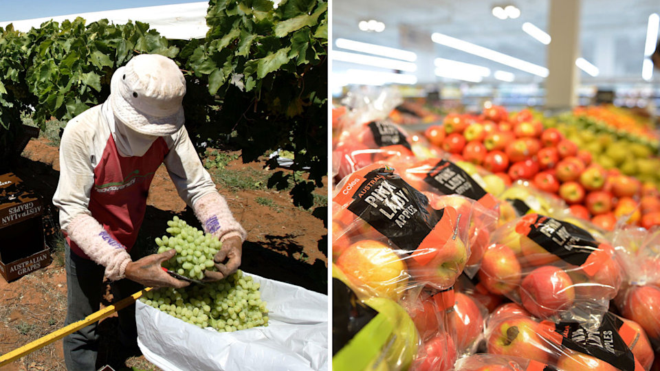 The prices of some fruits and vegetables are expected to rise next year. (Source: Getty)