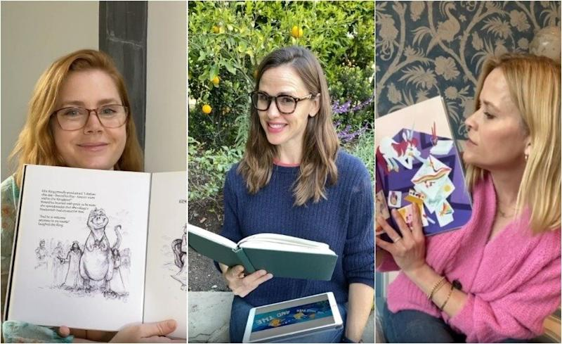 Reese Witherspoon, Beanie Feldstein, and other huge stars join Amy Adams and Jennifer Garner in reading books to children in quarantine