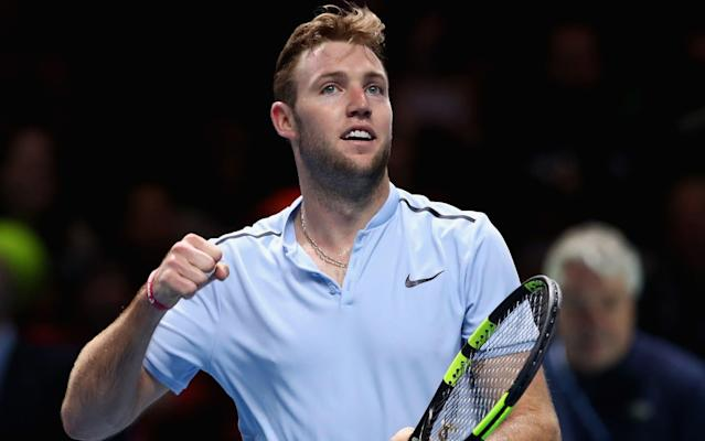 Jack Sock ended the day a happy man after beating Marin Cilic at the ATP Finals - Getty Images Europe