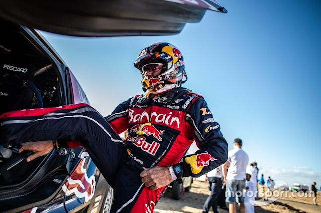 "#305 JCW X-Raid Team: Carlos Sainz <span class=""copyright"">X-Raid Team</span>"