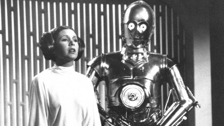 Princess Leia and C-3PO (Photofest)