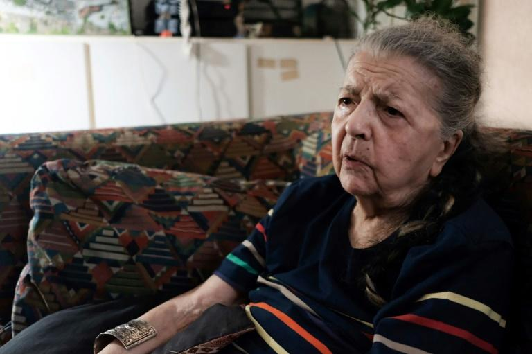 French Resistance heroine Madeleine Riffaud was just 19 when she shot a German officer in broad daylight (AFP Photo/Natalie HANDEL)
