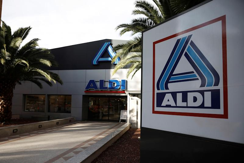 An Aldi Nord store in Madrid, Spain, is pictured here.