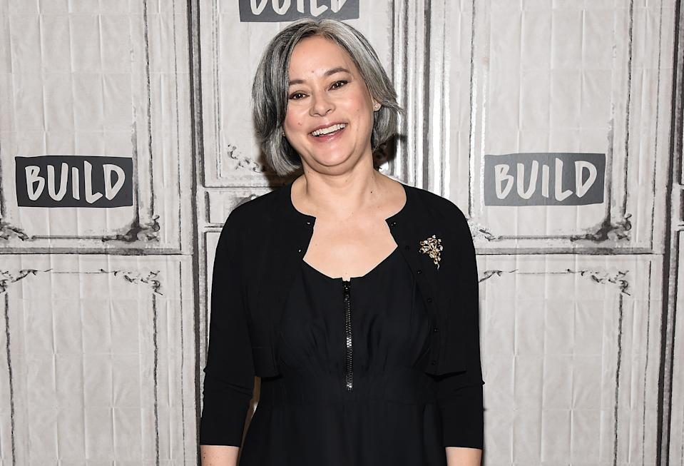 NEW YORK, NY - MAY 18:  Meg Tilly attends the Build Series to discuss her new romance novel 'Solace Island' at Build Studio on May 18, 2017 in New York City.  (Photo by Daniel Zuchnik/WireImage)