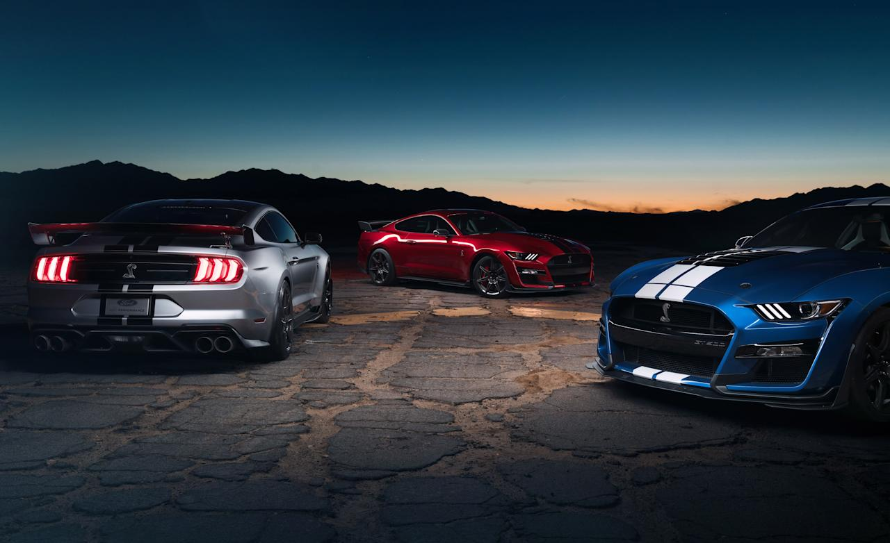 Ford just unveiled the most powerful Mustang ever to hit the streets
