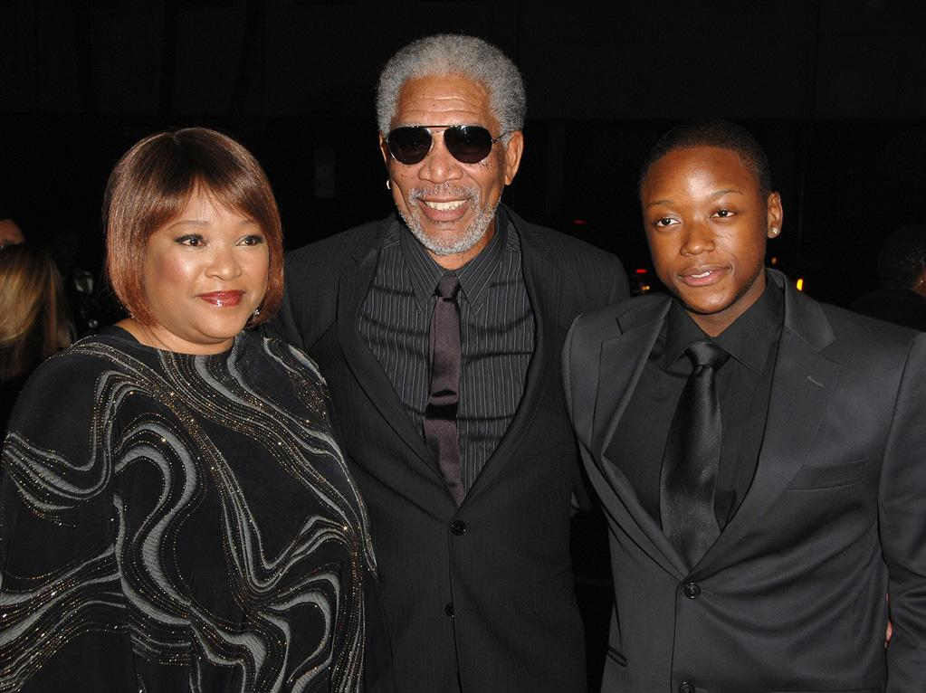 "<a href=""http://movies.yahoo.com/movie/contributor/1800020214"">Morgan Freeman</a> and guests at the Los Angeles premiere of <a href=""http://movies.yahoo.com/movie/1810073710/info"">Invictus</a> - 12/03/2009"