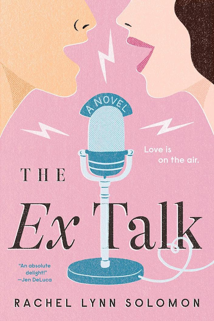 <p><span><strong>The Ex Talk</strong> by Rachel Lynn Solomon</span> ($14) tells the story of Shay Goldstein, who is a producer at a struggling public radio station. When Shay pitches a show idea in which two exes dish out relationship advice on air, she never expects her boss to recruit her colleague and work nemesis, Dominic Yun, to be her cohost - a tricky situation considering they never actually dated each other.</p> <p>In general, this was one of the most diverse and inclusive stories I've ever read. Dominic is Korean-American. Shay is Jewish with a Nigerian-American stepfather and stepsiblings, an Indian-American best friend, and a bisexual Chinese-American work friend. Plus, Shay is older than Dominic, which I thought lent a unique dynamic to the story. Overall, it's a well-rounded read: funny and emotional with smart dialogue (the podcast transcripts were my favorite) and sizzling scenes.</p>