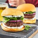 "<p>Sure, <a href=""https://www.delish.com/uk/cooking/recipes/a30609659/big-mac/"" rel=""nofollow noopener"" target=""_blank"" data-ylk=""slk:cheeseburgers"" class=""link rapid-noclick-resp"">cheeseburgers</a> are delicious. Sometimes though, we like to switch it up. These <a href=""https://www.delish.com/uk/cooking/recipes/a28839760/best-greek-salad-recipe/"" rel=""nofollow noopener"" target=""_blank"" data-ylk=""slk:Greek"" class=""link rapid-noclick-resp"">Greek</a>(ish) lamb <a href=""https://www.delish.com/uk/cooking/recipes/g30993382/best-burger-recipes/"" rel=""nofollow noopener"" target=""_blank"" data-ylk=""slk:burgers"" class=""link rapid-noclick-resp"">burgers</a> are full of flavour and a cinch to make! We're particularly fond of the of the feta yogurt sauce, similar to tzatziki sauce, so we slather it on both sides of the bun.</p><p>Get the <a href=""https://www.delish.com/uk/cooking/recipes/a32152559/lamb-burger-recipe/"" rel=""nofollow noopener"" target=""_blank"" data-ylk=""slk:Lamb Burger"" class=""link rapid-noclick-resp"">Lamb Burger</a> recipe.</p>"