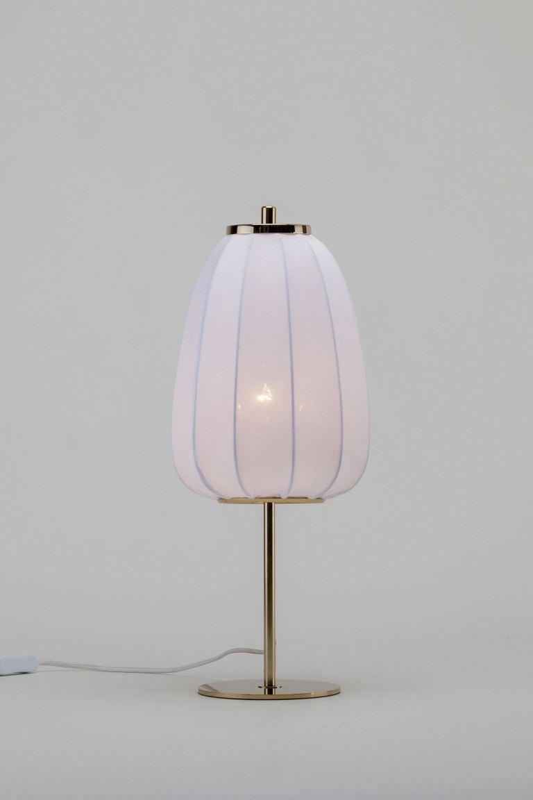"""<strong>Under £150</strong><br><br>My bedroom is north-facing, which can make it dark and gloomy, so I'm in the market for a cosy lamp. I love that this one looks like a little cocoon. <br><br><strong>H&M</strong> Soft fabric table light, $, available at <a href=""""https://www2.hm.com/en_gb/productpage.0939073001.html"""" rel=""""nofollow noopener"""" target=""""_blank"""" data-ylk=""""slk:H&M"""" class=""""link rapid-noclick-resp"""">H&M</a>"""