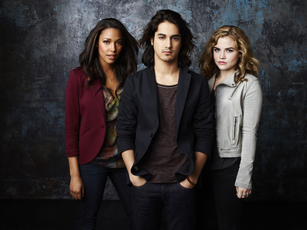 """ABC Family's """"Twisted"""" stars Kylie Bunbury as Lacey, Avan Jogia as Danny and Maddie Hasson as Jo."""