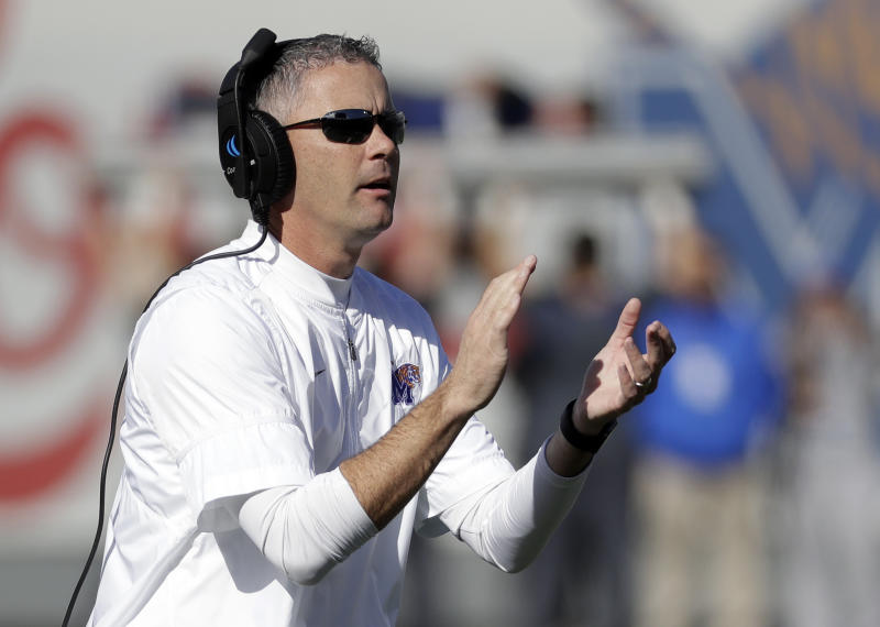 Memphis Coach Mike Norvell Looks Like Real Deal
