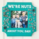 """<p>Dad will go nuts over this hilarious (and adorable) DIY picture frame. </p><p><strong><em>Get the tutorial at <a href=""""https://www.happinessishomemade.net/nuts-about-you-photo-frame-gift-idea/"""" rel=""""nofollow noopener"""" target=""""_blank"""" data-ylk=""""slk:Happiness Is Homemade"""" class=""""link rapid-noclick-resp"""">Happiness Is Homemade</a>. </em></strong></p><p><a class=""""link rapid-noclick-resp"""" href=""""https://www.amazon.com/Midwest-Fastener-14997-Washer-Assortment/dp/B000DEN4X8?tag=syn-yahoo-20&ascsubtag=%5Bartid%7C10070.g.2461%5Bsrc%7Cyahoo-us"""" rel=""""nofollow noopener"""" target=""""_blank"""" data-ylk=""""slk:SHOP NUTS AND WASHERS SET"""">SHOP NUTS AND WASHERS SET</a> </p>"""