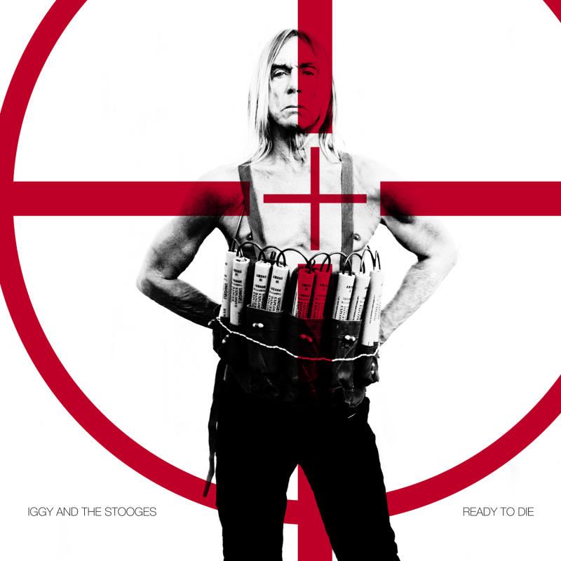 "This CD cover image released by Fat Possum Records shows ""Ready to Die,"" by Iggy Pop and the Stooges. (AP Photo/Fat Possum Records)"