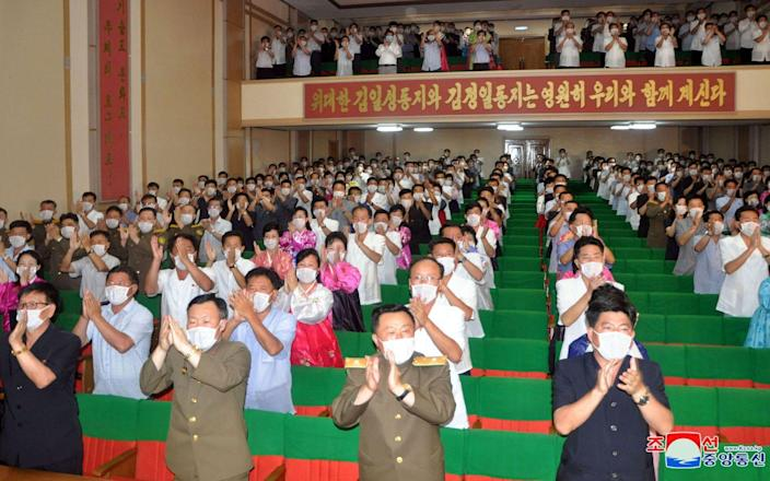 The North Korean Central Committee of the Workers' Party - STR/KCNA VIA KNS/AFP via Getty Images