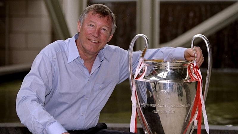 Sir Alex Ferguson Man Utd 1999