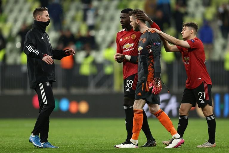 David de Gea missed in the shootout after the first 21 penalties were successfully converted