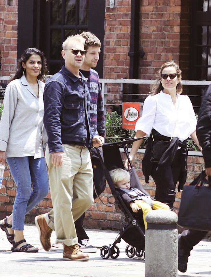 "<p>Model and jewellery designer, Jade Jagger, was recently spotted in Bogota, Columbia with son Ray in his <a rel=""nofollow"" href=""http://www.gb-online.com"">gb Pockit stroller</a>. Jade and the rest of the Jagger family were out in full force to support her father Mick on the Rolling Stones tour. Wheels fit for a rock star baby. </p><p><i>[Photo: www.gb-online.com]</i></p>"