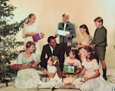<p>Julie Andrews, Christopher Plummer, and the rest of <em>The</em> <em>Sound of Music </em>cast gave us a glimpse at what Christmas morning in the Von Trapp household would look like in a promotional shoot for their film. </p>