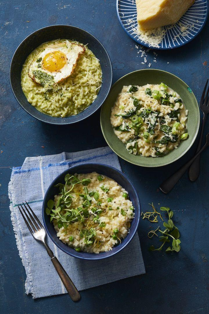 """<p>This one pot wonder is a real crowdpleaser thanks to its creamy texture and cheesy taste. Plus it is the ultimate canvas for any toppings your family may enjoy: Try a fried egg, a dollop of pesto, or a sprinkle of peas.</p><p><em><a href=""""https://www.goodhousekeeping.com/food-recipes/easy/a30224354/instant-pot-risotto-recipe/"""" rel=""""nofollow noopener"""" target=""""_blank"""" data-ylk=""""slk:Get the recipe for Instant Pot Risotto With Parmesan »"""" class=""""link rapid-noclick-resp"""">Get the recipe for Instant Pot Risotto With Parmesan »</a></em></p><p><strong>RELATED:</strong> <a href=""""https://www.goodhousekeeping.com/food-recipes/easy/g5179/instant-pot-recipes/"""" rel=""""nofollow noopener"""" target=""""_blank"""" data-ylk=""""slk:22 Best Instant Pot Recipes for Easy Weeknight Dinners"""" class=""""link rapid-noclick-resp"""">22 Best Instant Pot Recipes for Easy Weeknight Dinners</a></p>"""