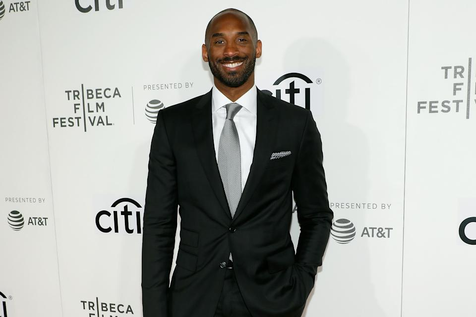 NEW YORK, NY - APRIL 23:  Kobe Bryant attends Tribeca Talks during the 2017 Tribeca Film Festival at Borough of Manhattan Community College on April 23, 2017 in New York City.  (Photo by Taylor Hill/Getty Images)