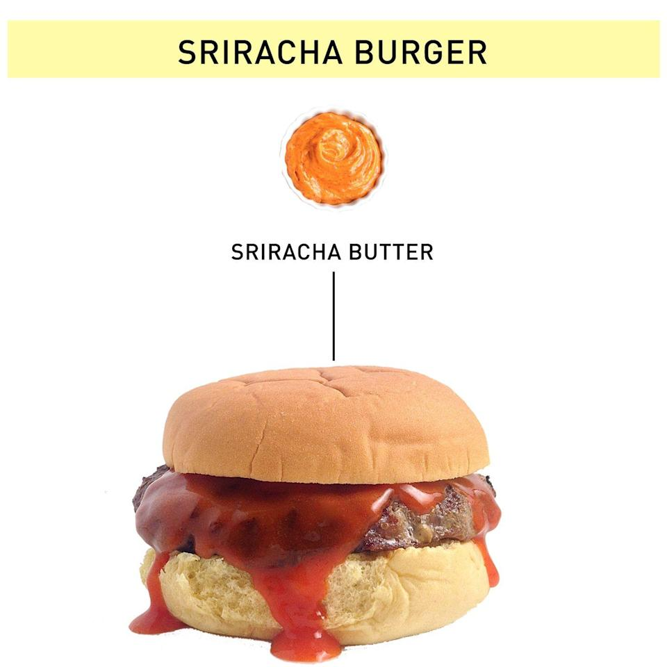 "<p>Learn how to make it <a href=""https://www.delish.com/cooking/a42501/sriracha-butter/"" rel=""nofollow noopener"" target=""_blank"" data-ylk=""slk:here"" class=""link rapid-noclick-resp"">here</a>.</p>"