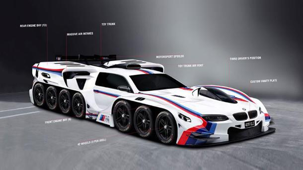Bmw Makes 4 Year Old S Dream Come True By Designing A 19 Engined Race Car