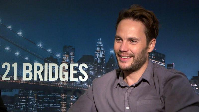 Taylor Kitsch Dishes on If He'd Be Down to Play the Villain in 'Black Panther' Sequel (Exclusive)