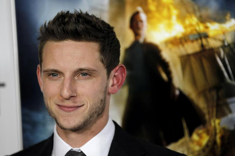 """FILE - In this Nov. 11, 2011 file photo, cast member Jamie Bell arrives at a screening of """"The Adventures of TinTin"""" during the closing night gala of AFI FEST 2011, in Los Angeles. AMC says it's ordered two new dramas that are expected to debut in 2014. The drama, """"Turn,"""" based on the book """"Washington's Spies"""" by historian Alexander Rose, will star Bell of the movie """"Billy Elliot"""" and """"King Kong."""" (AP Photo/Matt Sayles)"""