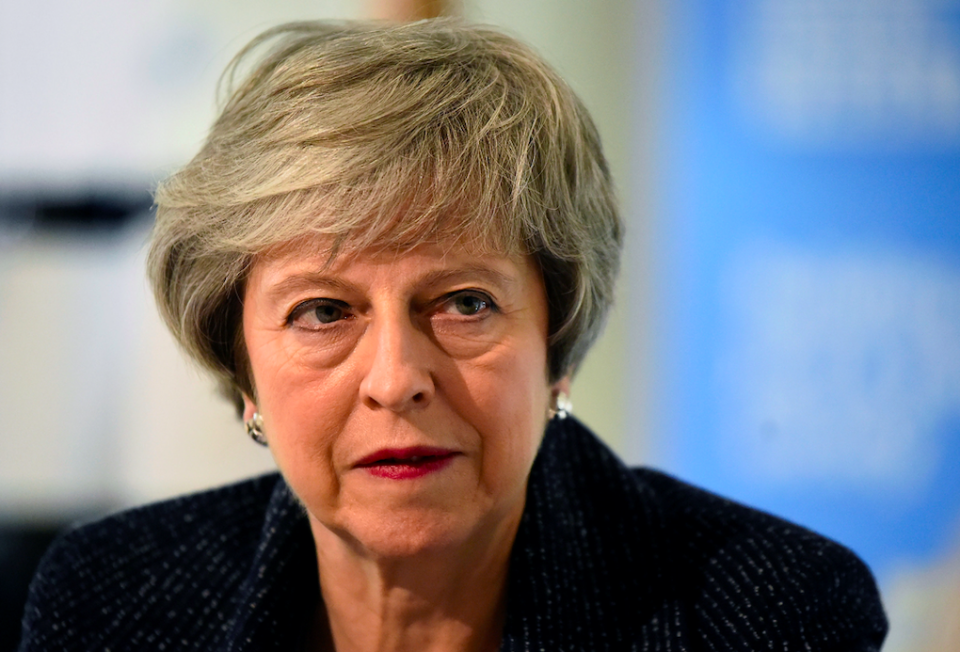 <em>Theresa May is still battling to get her Brexit deal through Westminster (Getty)</em>