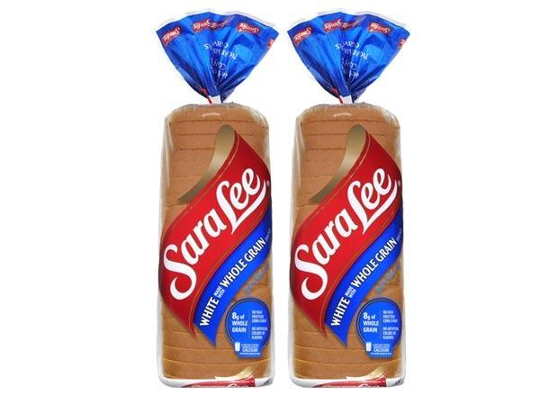sara lee soft&smooth white made with whole grain bread