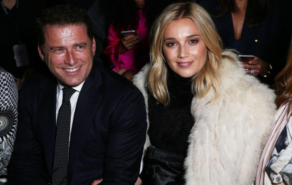 Karl is now dating 33-year-old Jasmine Yarbough. The pair are pictured here together at Fashion Week in Sydney. Source: Getty