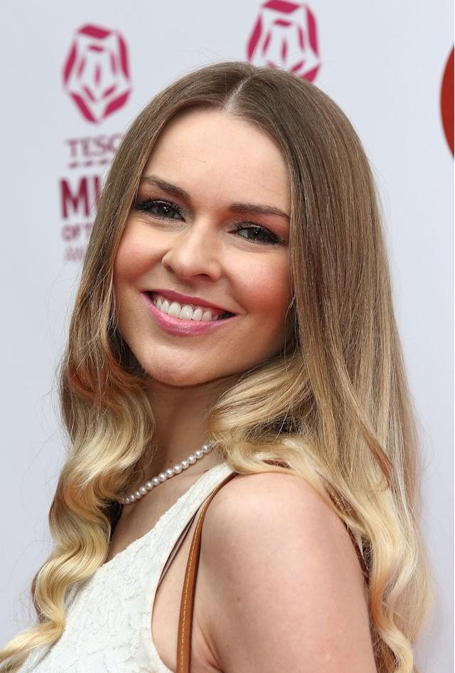 Salmon attends the Tesco Mum of the Year awards in London in 2013. (Getty Images)
