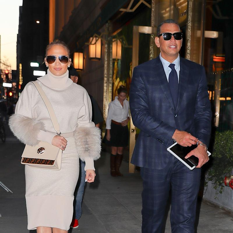 814f813b6d How Jennifer Lopez and Alex Rodriguez Do Post–Met Gala Date Night Style